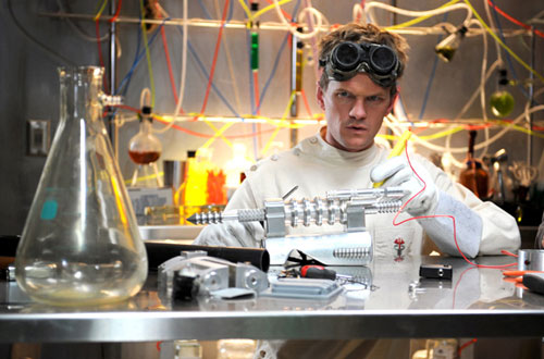 Neil Patrick Harris as Dr. Horrible.