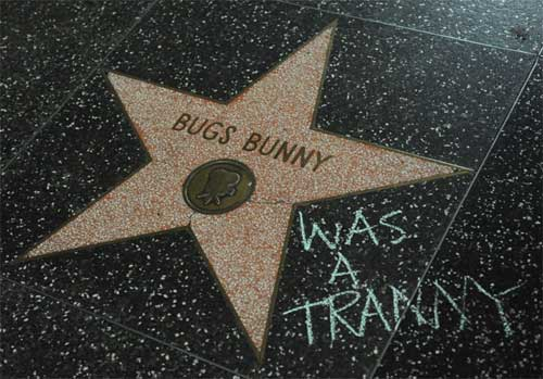 Bugs Bunny is a tranny.