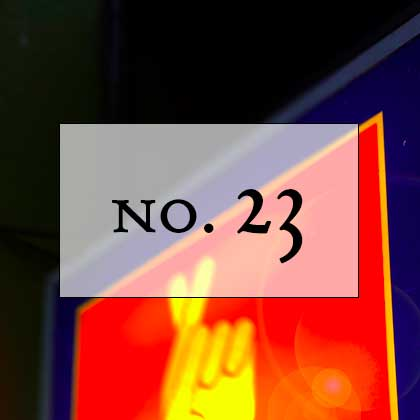 No. 23: the thin ice