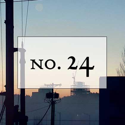 no. 24: vilissima et infima