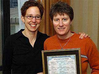 AP photo of Tai Jungcker and Kathy Belge.